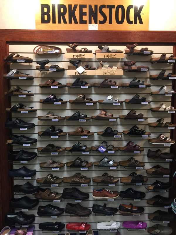 birkenstock display